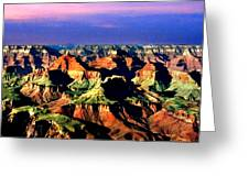 Painting The Grand Canyon National Park Greeting Card
