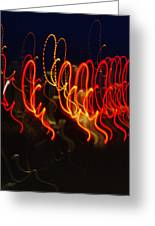 Painting With Light 3 Greeting Card