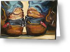 Pair Of Boots Greeting Card