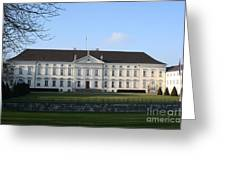 Palace Bellevue - Berlin Greeting Card