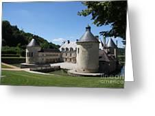 Palace Bussy - Rabutin - Burgundy Greeting Card