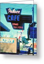 Palace Cafe Vintage Greeting Card