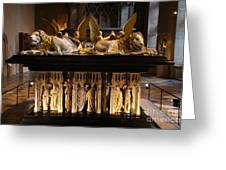 Palace Dijon - Salle De Gardes Greeting Card