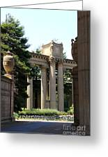 Palace Fine Arts Pillars And Urn Greeting Card