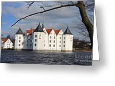 Palace Gluecksburg - Germany Greeting Card