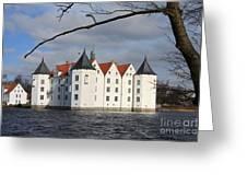 Palace Gluecksburg - Germany Greeting Card