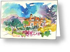 Palace In Sintra Greeting Card
