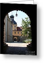 Palace Moritzburg - Zeitz Greeting Card