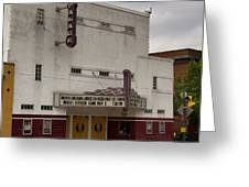 Palace Movie Theater Greeting Card
