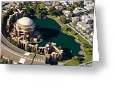 Palace Of Fine Arts Aloft Greeting Card