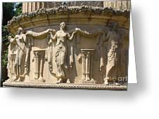 Palace Of Fine Arts Relief San Francisco Greeting Card