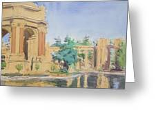 Palace Of Fine Arts Greeting Card