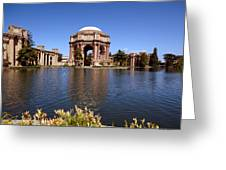Palace Of Fine Artstheatre In San Francisco Greeting Card