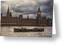 Palace Of Westminster Greeting Card
