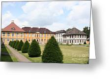 Palace Oranienbaum - Germany Greeting Card