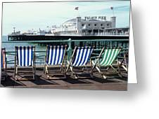 Palace Pier Brighton Greeting Card