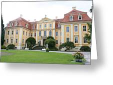 Palace Rammenau - Germany Greeting Card