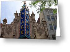 Palace Theater Greeting Card