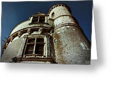 Palace Tower Of Chenonceau Greeting Card