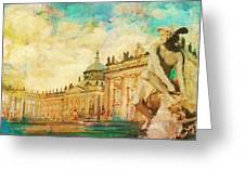Palaces And Parks Of Potsdam And Berlin Greeting Card by Catf