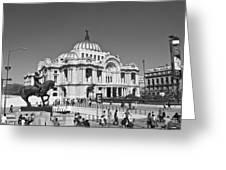 Palacio De Bellas Artes Greeting Card