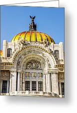 Palacio De Bellas Artes Greeting Card
