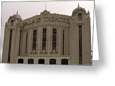 Palais Theatre Facade Greeting Card