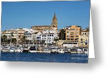 Palamos Spain Greeting Card