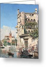 Palazzo Contarini Greeting Card