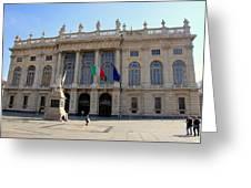 Palazzo Madama In Turin Greeting Card