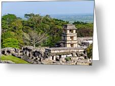 Palenque Palace Greeting Card