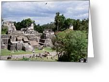 Palenque Ruins Greeting Card