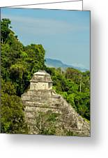 Palenque Temple Greeting Card