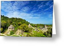 Palenque View Greeting Card