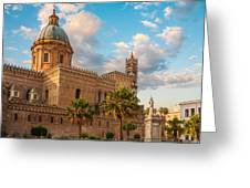 Palermo Cathedral Greeting Card