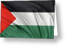 Palestine Flag Greeting Card