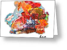 Palette Impressions 2 Greeting Card