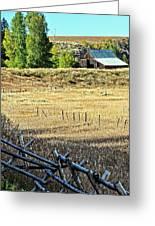 Palisades Idaho Greeting Card