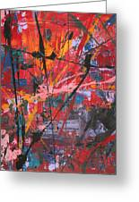 Palette Knife Series 03 Greeting Card