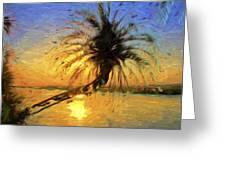 Palm Beauty Greeting Card
