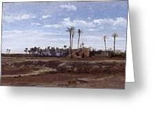 Palm Forest In Elche Greeting Card