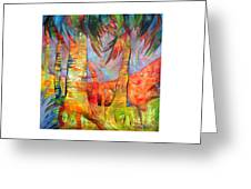 Palm Jungle Greeting Card