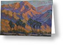 Palm Oasis At La Quinta Cove Greeting Card