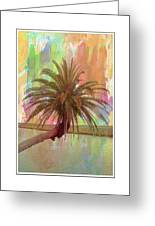 Palm On The Loop Greeting Card