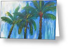 Palm Trio Greeting Card