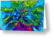 Palmetto Number 3 Greeting Card