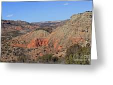 Palo Duro Canyon 021013.282 Greeting Card