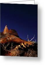 Palo Duro Canyon 2am-114844 Greeting Card