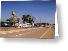 Palomino Motel Greeting Card