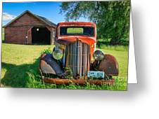 Palouse Dodge Greeting Card